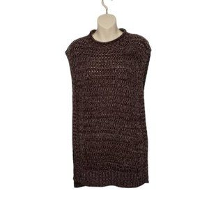 ROOTS knit pullover sleeveless sweater small